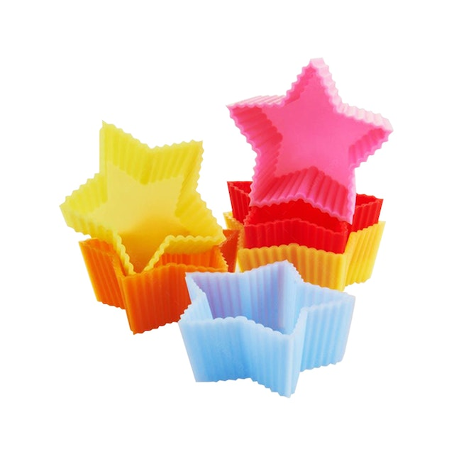 Cooks Habit Muffin Cups - Star
