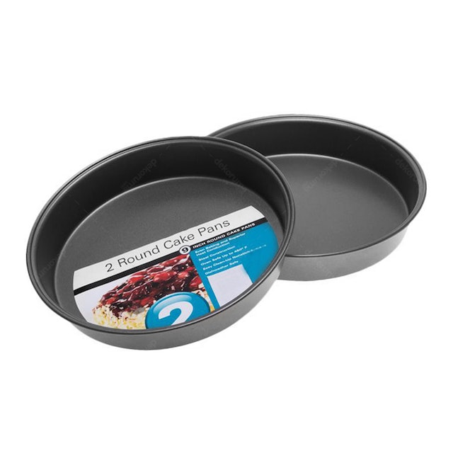 Cooks Habit Round Cake Pan Loyang Kue ( 9 Inch/2Pcs)
