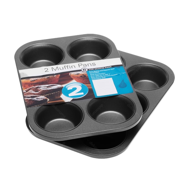 Cooks Habit Muffin Pan 6 Cup Loyang Kue