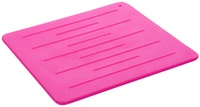 Cooks Habit Silicone Trivet - Pink
