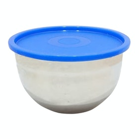 Cooks Habit Covered Mixing Bowl Biru 3 L