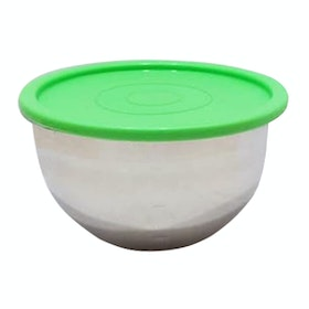 Cooks Habit Covered Mixing Bowl Hijau 1.5 L