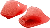 Cooks Habit Silicone Gloves - Red
