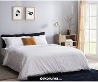 Cozylila Bed Sheet Set Fitted Salur 120x200x40cm
