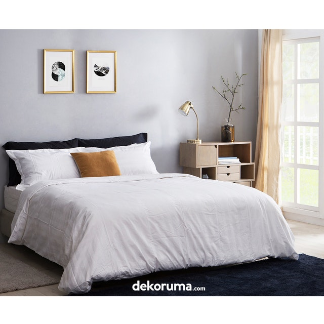 Cozylila Bed Sheet Set Fitted Salur 180x200x40cm