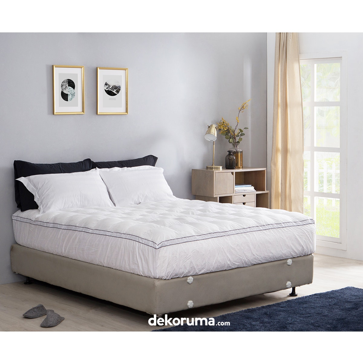 Cozylila Mattress Topper 40persen Down Feather 180x200x40cm