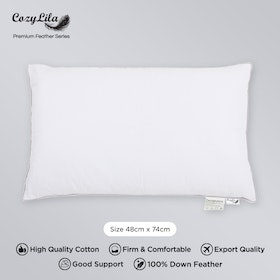 Cozylila Bantal Bulu Angsa 100persen Down Feather (Soft Smooth)