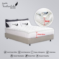 Cozylila Luxury Mattress Topper 8cm 160 x 200