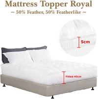 Cozylila Mattress Topper Royal Feather 160 x 200
