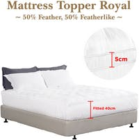 Cozylila Mattress Topper Bulu Angsa 50 Persen Feather (Royal) 200 x 200