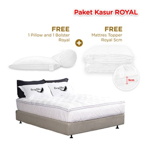 Cozylila Paket Mattress (Kasur) Royal Satu Set 120 x 200