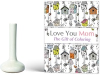 Dama Set Yitza Vase Putih & Buku Love You Mom