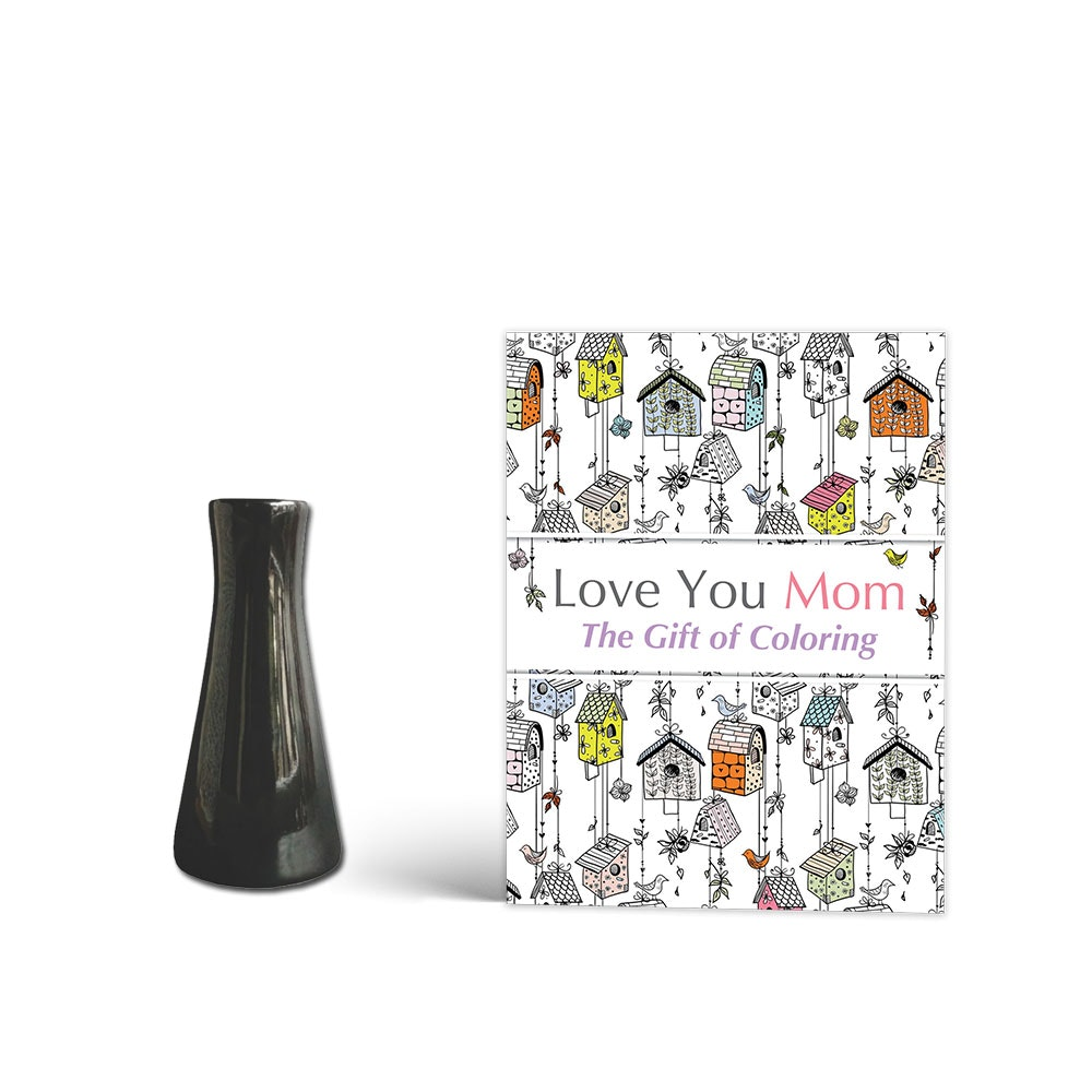 Dama Set Stiv Vase & Buku Love You Mom