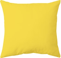 Decorio Sarung Bantal Basic - Yellow 40x40cm