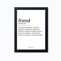 Decorio Art Frame - Friend A3