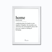 Decorio Art Frame - Home A3