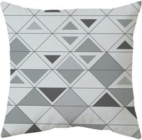 Decorio Sarung Bantal - Diamond Grey 40x40cm