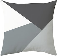 Decorio Sarung Bantal - Monochrome 40x40cm
