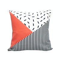 Decorio Sarung Bantal - Sprinkle Stripe 40x40cm