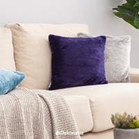 Linori Rumi Sarung Bantal Fur Blue Purple 40x40cm
