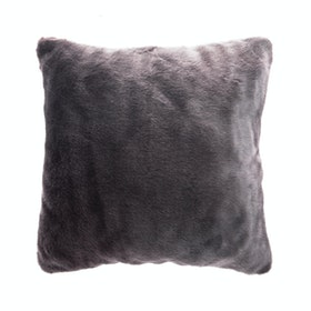 Linori Rumi Sarung Bantal Fur Icy Grey 40x40cm