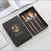 Livingworks Leroy Cutlery Set - Rose Gold