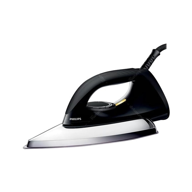Philips Setrika/ Dry Iron HD1173 Hitam