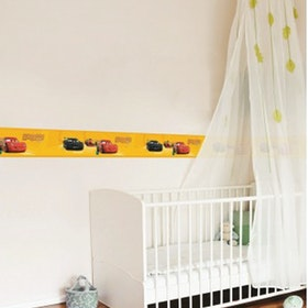 Interior DIY The Cars and Friends Yellow - DT 23845 Border Sticker