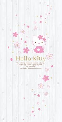 Interior DIY Wallpaper Door Sticker Cute Pink Hello Kitty - KWS 28205