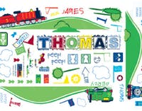 Interior DIY Wallsticker DindingThomas - TSS 58752