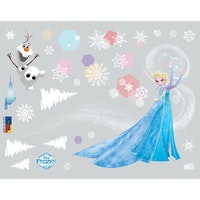 Interior DIY Wallsticker Dinding Dancing Elsa DS 56196
