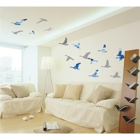 Interior DIY Wallsticker Dinding Sky Bird - PS 58074