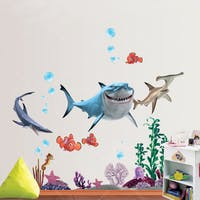 Interior DIY Wallsticker Dinding DS 58397 Nemo and Friends