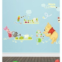 Interior DIY Wallsticker Dinding Gardening Pooh - DS 58361