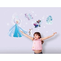 Interior DIY Wallsticker Dinding Frozen Snowflake DS 56198
