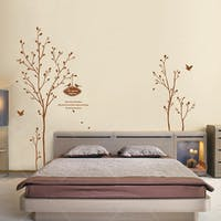 Interior DIY Graphic Sticker Refreshing Tree - GS 58835 Wallsticker Dinding