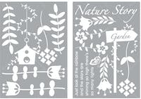 Interior DIY Graphic Sticker Nature Garden GS 58853 Wallsticker Dinding