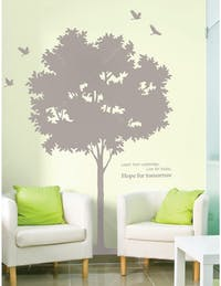 Interior DIY Graphic Sticker Learn, Live, Hope GS 58850 Wallsticker Dinding