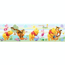 Interior DIY Fun With Pooh - DT 23835 Border Sticker