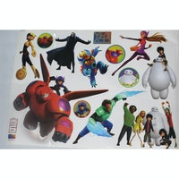 Interior DIY Wallsticker Dinding DS 56181 Big Hero 6