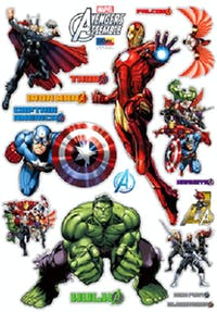 Interior DIY Wallsticker Dinding DS 56187 The Avengers Marvel