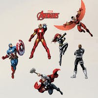 Interior DIY Wallsticker Dinding DS 56188 The Avengers Assemble