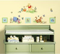 Interior DIY Sticker Dinding Anak Disney Pooh Toddler Decals RMK 1630 SCS (4 lembar)