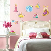 Interior DIY Sticker Dinding Anak Removable Princess Friendship Adventure Wall Decals RMK 3181 SCS (4 lembar)