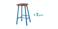 Malik Art Baccarat Bar Stool Biru (Isi 2 Unit)