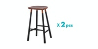 Malik Art Baccarat Bar Stool Hitam (Isi 2 Unit)