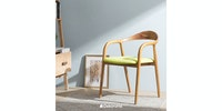 Sanders Gallery Neva Arm Chair Hijau