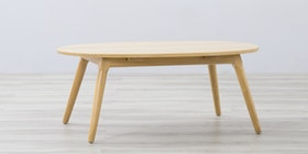 Sanders Gallery Coffee Table Ouval