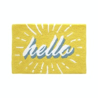 Eclectic Home Decor Hello Sunshine Doormat