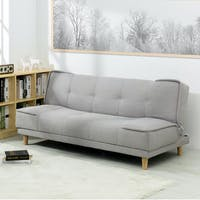 ebonia Sofa Bed Milan Abu-Abu